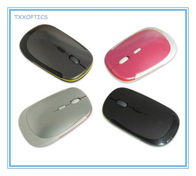Flat Slim 2.4ghz USB Wireless Optical Mouse