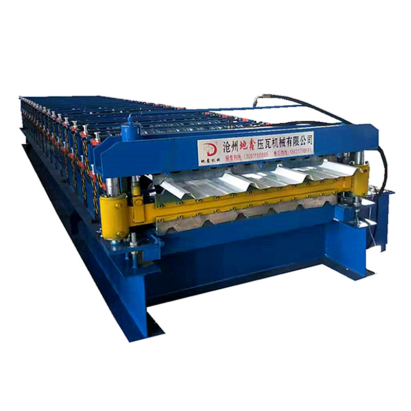 Trapezoidal Double layer roll forming machine