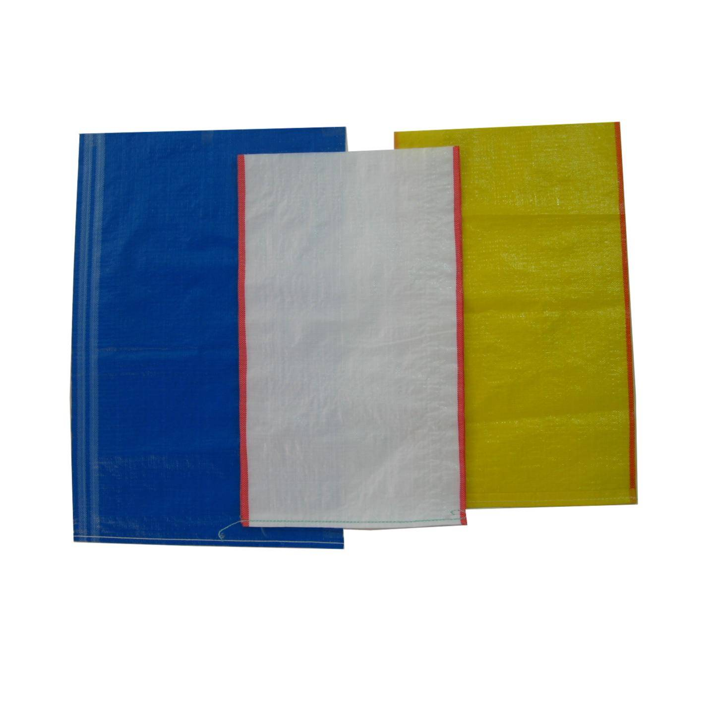 Yellow PP Woven Bag for Packaging Grain