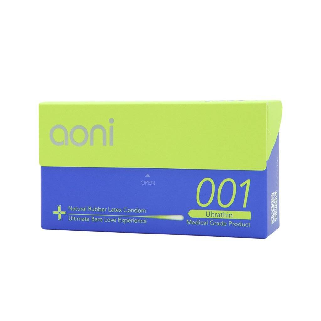 Aoni Ultrathin 001 - World's Thinnest Latex Condoms