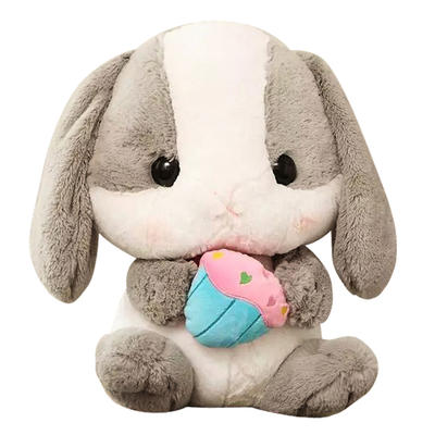 High Quality Plush Cute Rabbit Gift for Kids