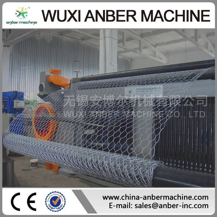 14p420 gabion mesh machine