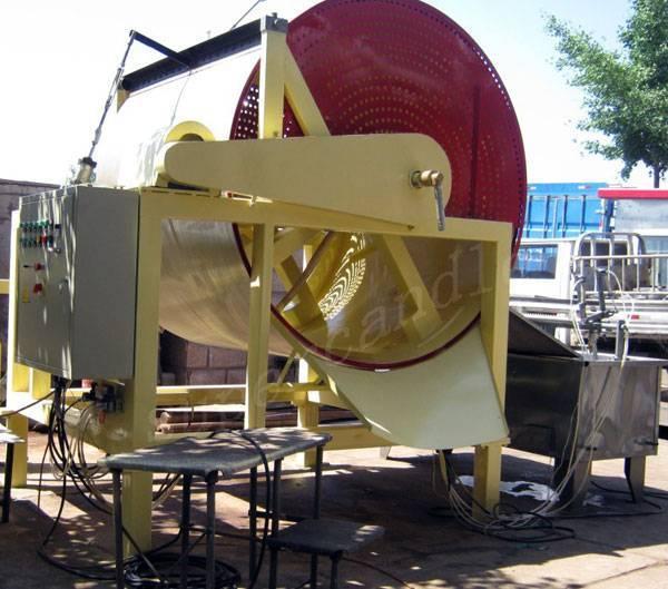 Wax Powder Spraying Production Drum, Wax Bead Spraying Machine, naphthalene powder production plant