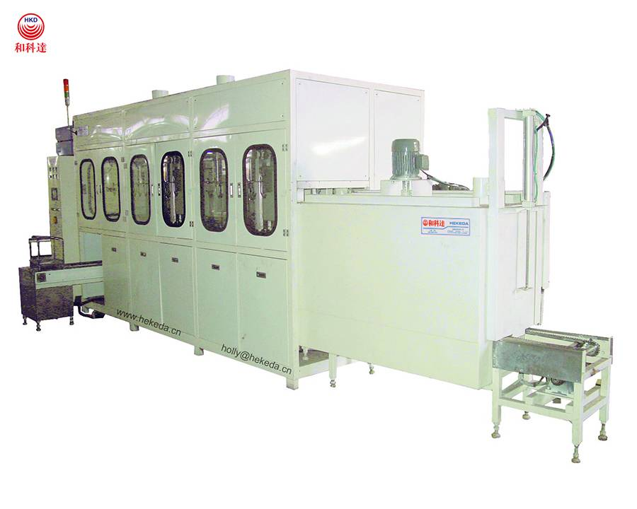 ultrasonic stampings cleaning machine