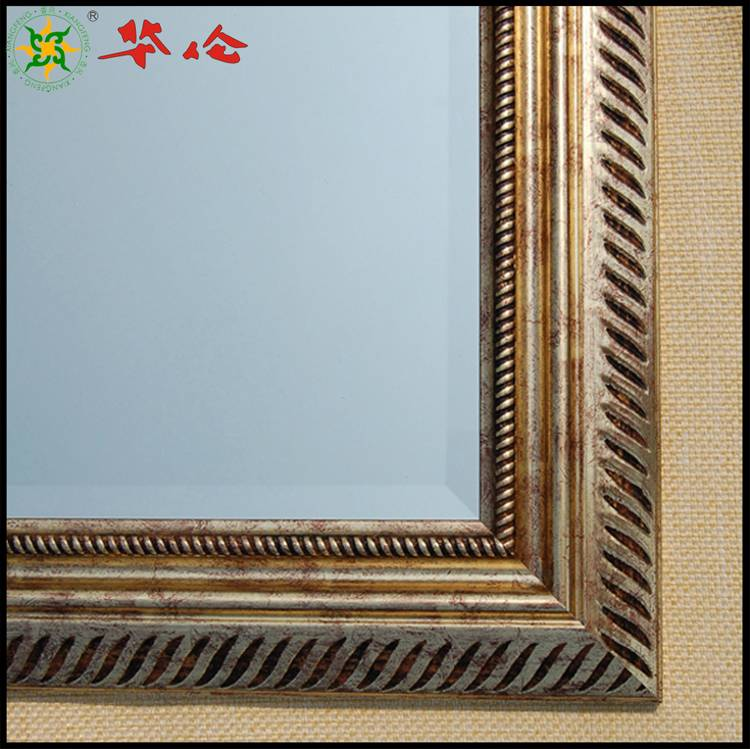 J07509 series PS mirror frame moulding Cheap wall Framed miiors