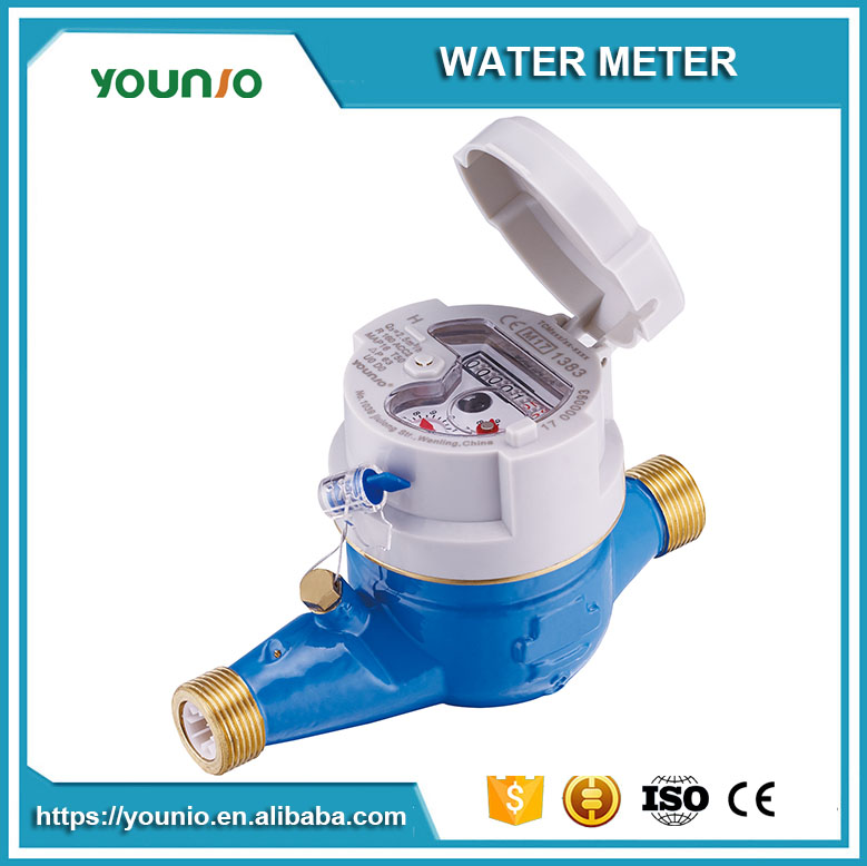 Younio China Factory Price Multi Jet Dry Type Magnetic Transmision R 160 Water Meter