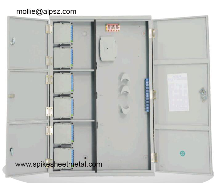 Triple play optical fiber distribution box