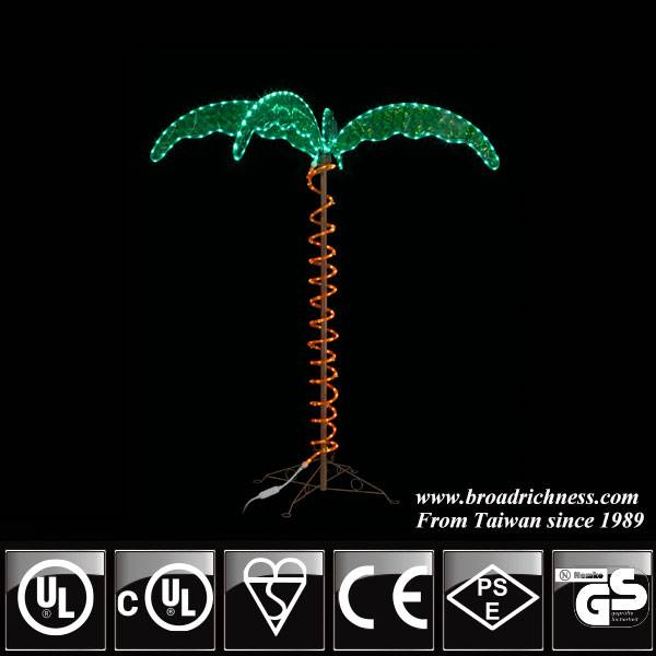 UL Listed palm tree light for garden