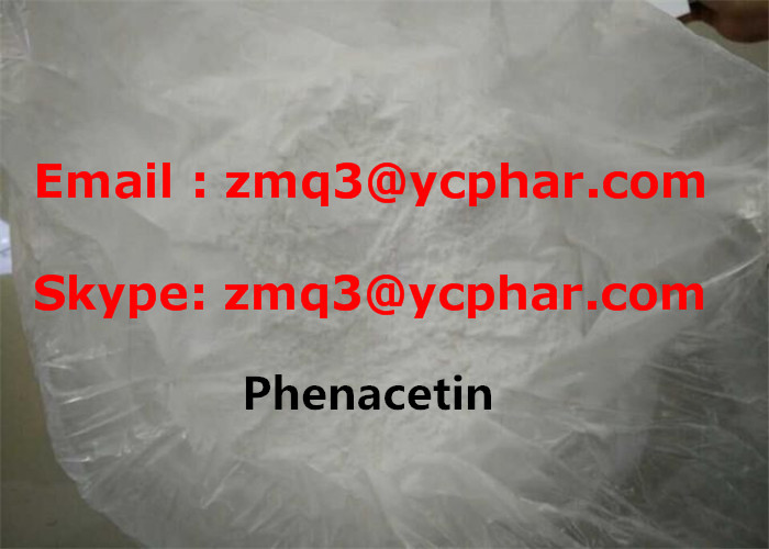 Phenacetin Pain Relieving Drug Local Anesthetic Drugs 4-Acetophenetidine CAS 62-44-2