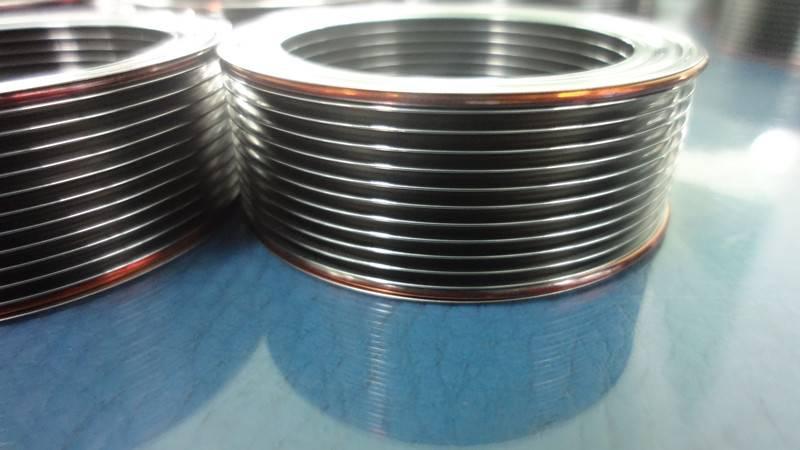 Welded bellows type mechanical seal bellows