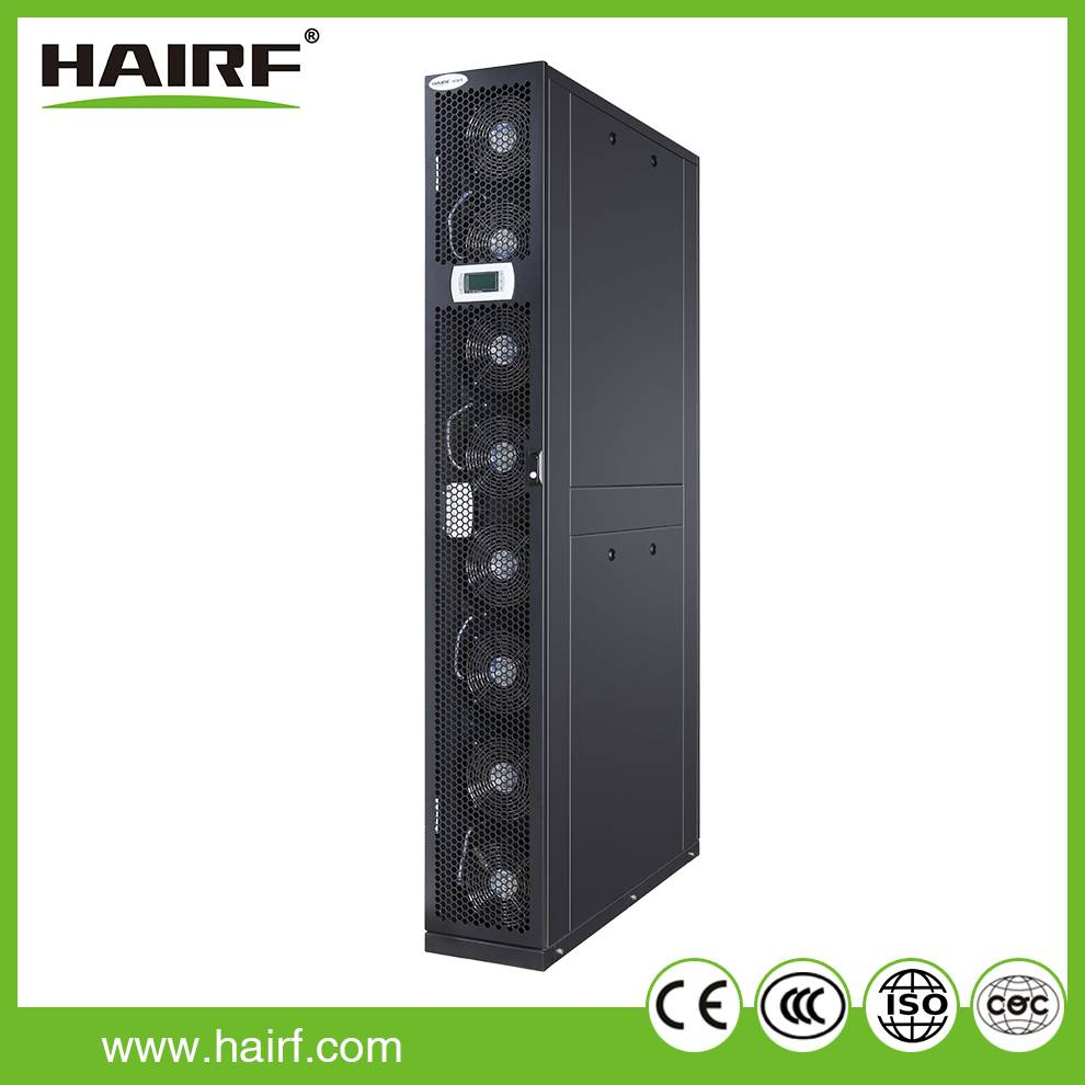Hairf in row cooling air conditioning for high density server room