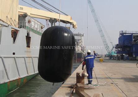 D1.5mxL3m dock rubber marine fender floating fender