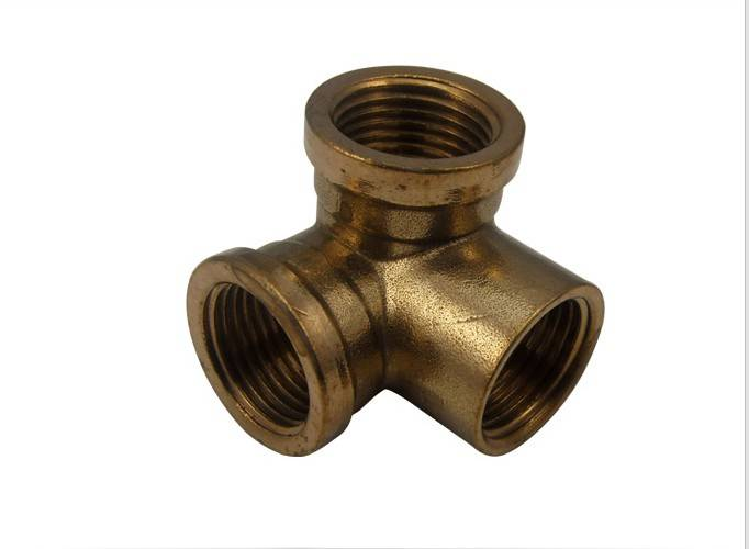 Brass female y fitting connector