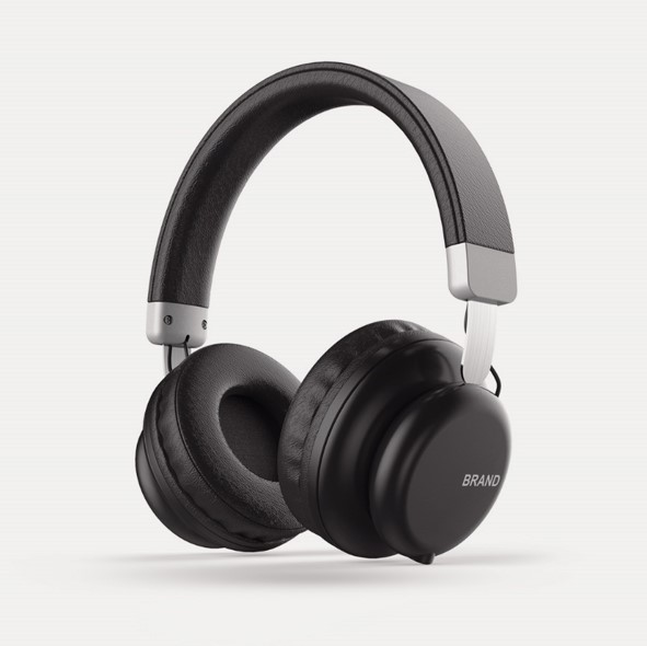 New Design Bluetooth on-Ear Headphones, Wireless Headset, Wired Mode, Portable, Super Comfortable fo
