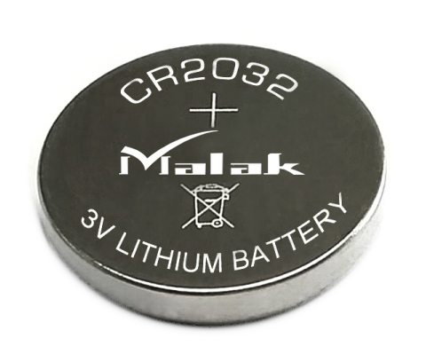 240mAh high capacity CR2032 lithium button cell battery