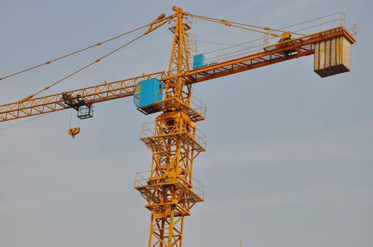high effiency attached tower crane