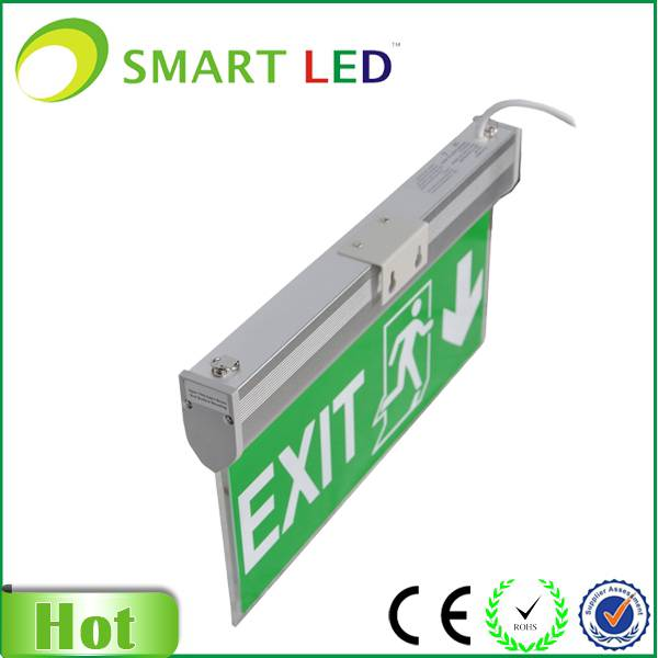 Acrylic Emergency Double Sided LED Exit Sign