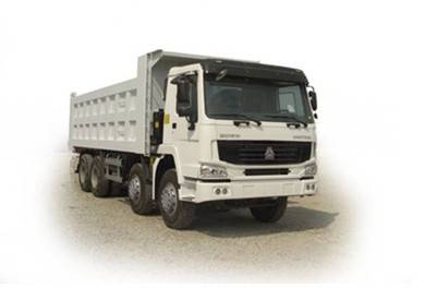 HOWO tipper/8*4 dump truck/high quality and low price/tipper made in China