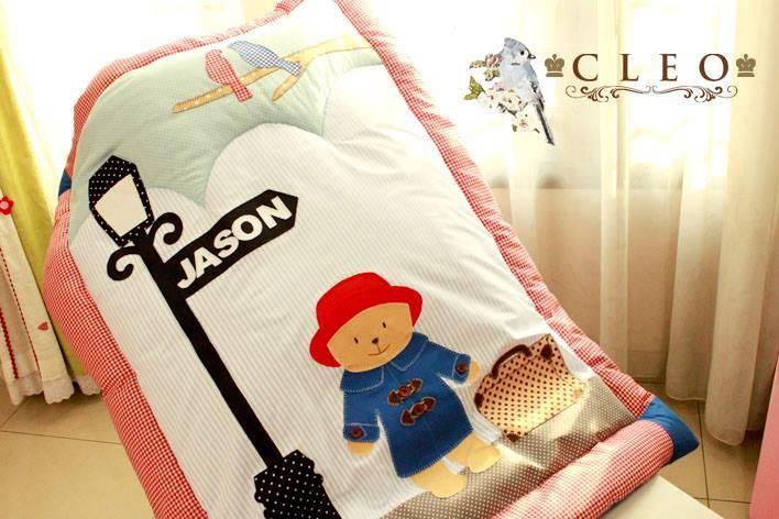 Cute Kid Pillow 40x40cm