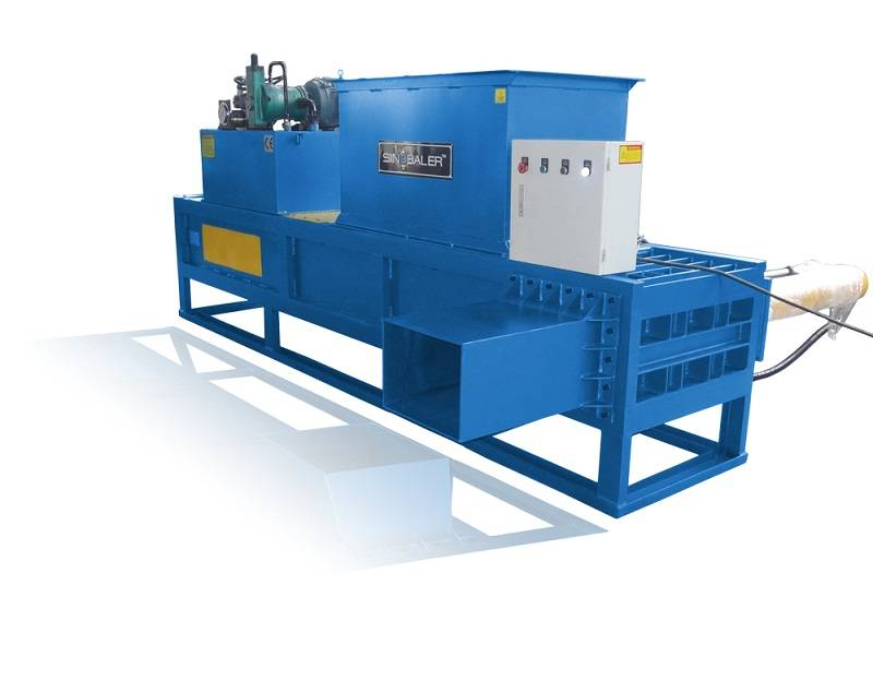 Heavy Duty Horizontal Bagging Baler