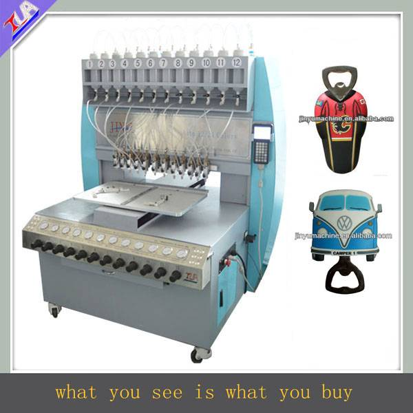 Beautiful designed pvc bottle opener making machine