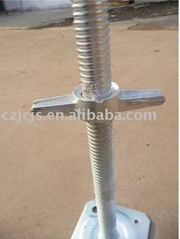 OEM screw base jack scaffolding system and screw base jack scaffold accessories