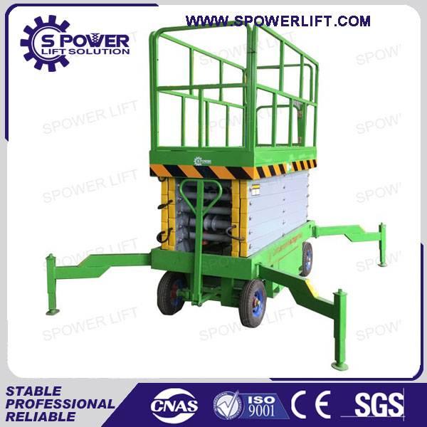 Best price 9M small mobile scissor lift platform