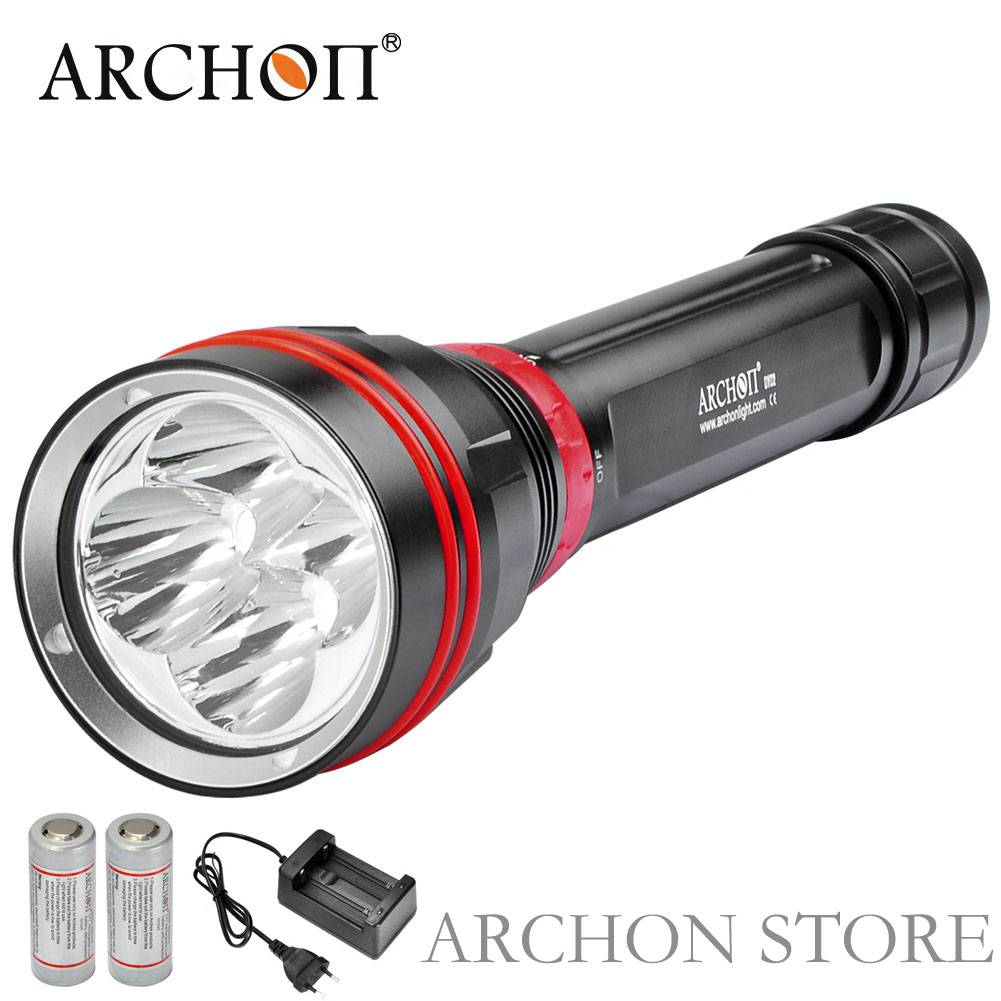 Archon 4000lm WY08 Scuba Diving Flashlight Torch CE