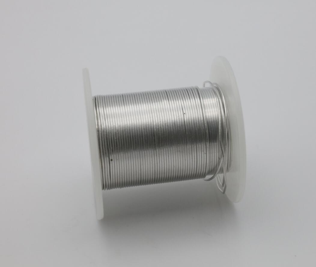 High Quality 1mm-3mm Diameter Indium Wire 99.99% 4N