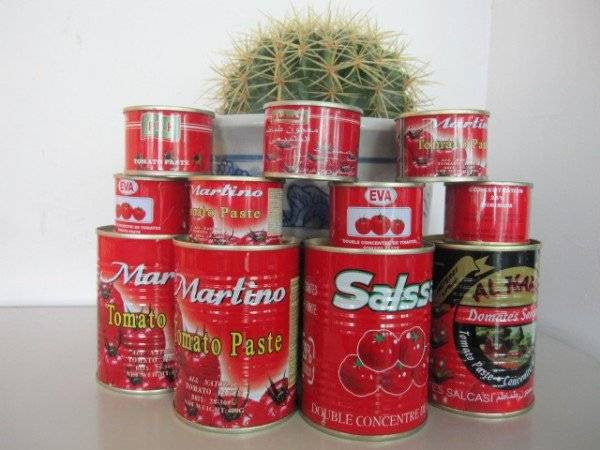 Canned Tomato Paste Ketchup for Pizza
