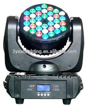 36PCS 3W RGBW Disco KTV Bar DJ Best Mini Beam LED Light Mini Beam LED Moving Head Light