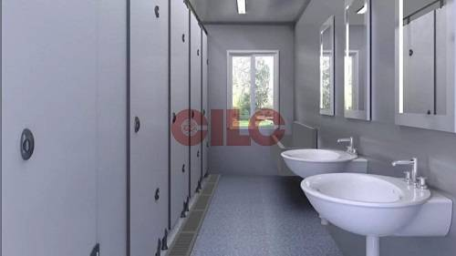 Mobile Container  House with Toilet and Ablution