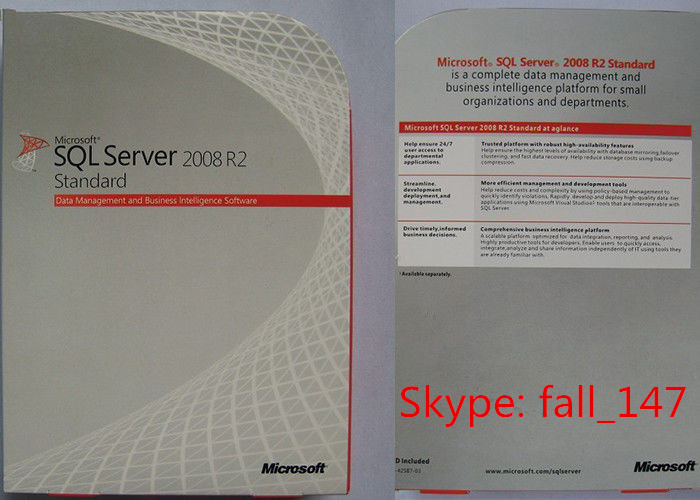 Lifetime Windows SQL Sever 2008 R2 With Online Activation Warranty coa sticker