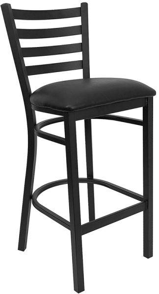 ladder back metal barstool bar furniture bar chair