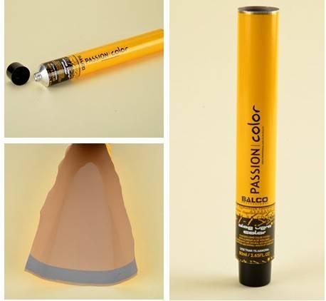 cosmetic packaging aluminum tube