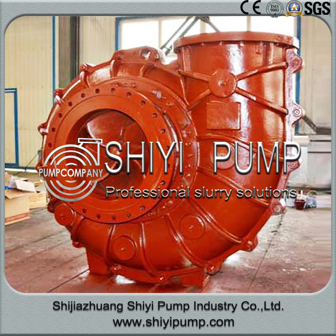 Fgd Fule Gas Desulphurization Recirculation Centrifugal Slurry Pump