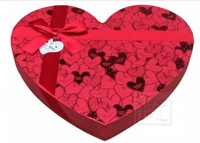 Handmade Heart shape gift box