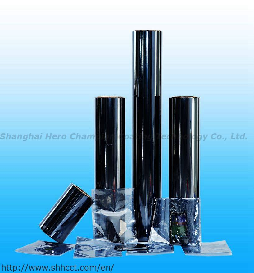 Semi Metallized Film Electronic film for Shielding bag anti-static bag