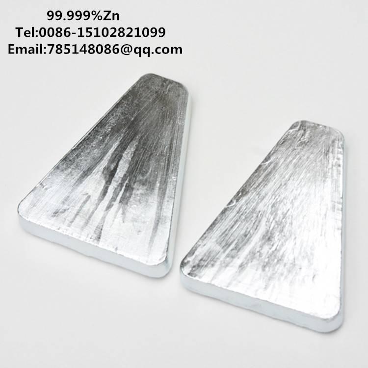 99.995%-99.9999% high purity zinc(Zn)