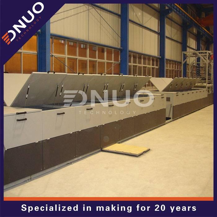 FRP corrugate sheet machine machine