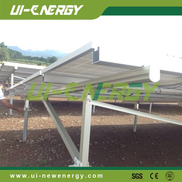 Aluminum Ground Mounting brackets for solar power system