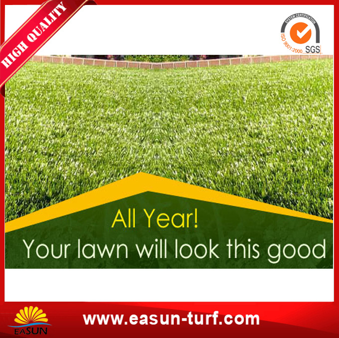 Garden Artificial Grass Waterproof Synthetic Turf from China-MY