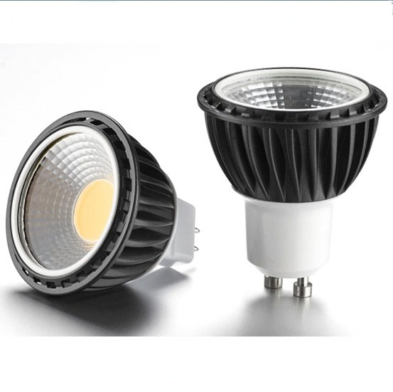 led MR16 COB 5.5W reflector spot light led light bulb