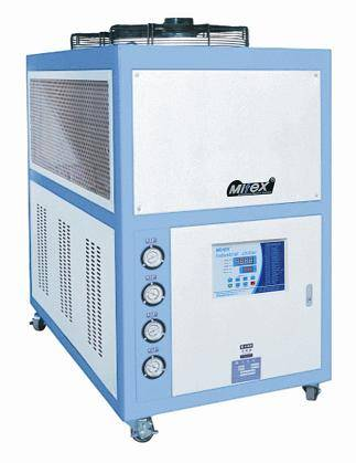 Industrial  air cooled chiller for injection/extruder mold