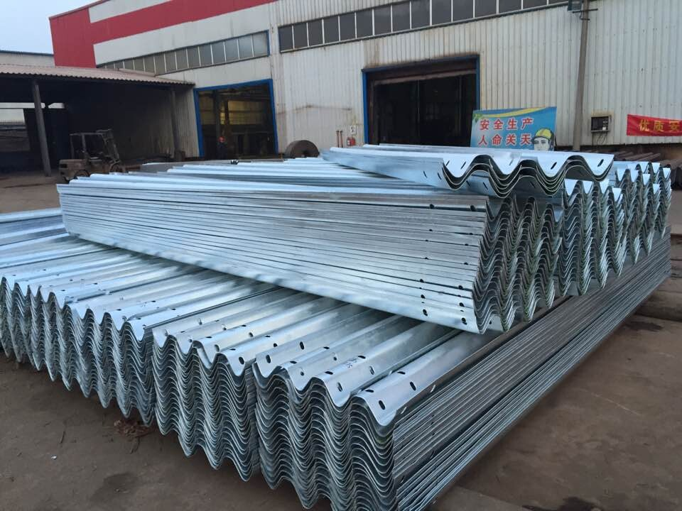 Hot Dipped Galvanized Highway barrier /traffic barrier,highway guardrail