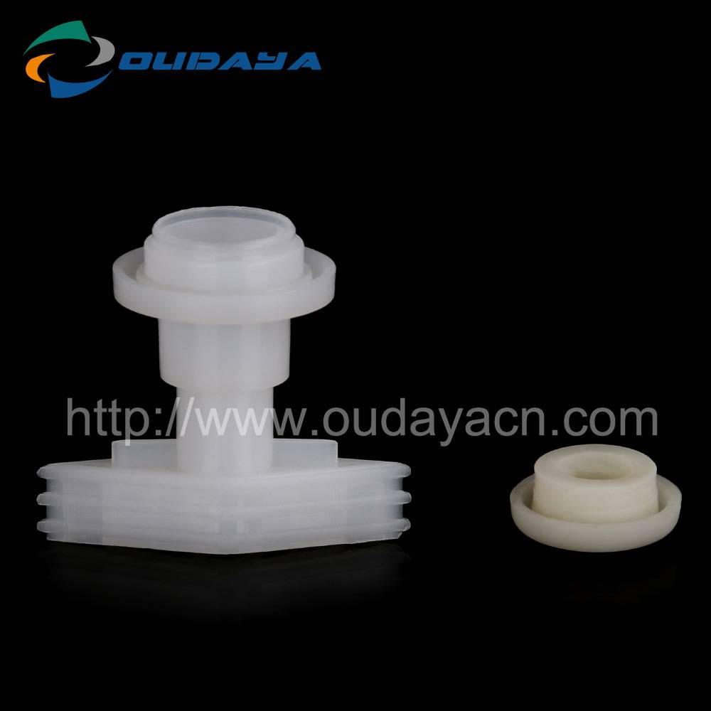 Factory wholesale medicine used plastic tube spout and cap