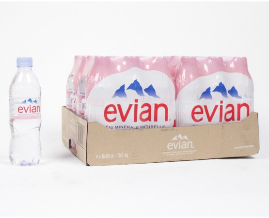 Evian Mineral water