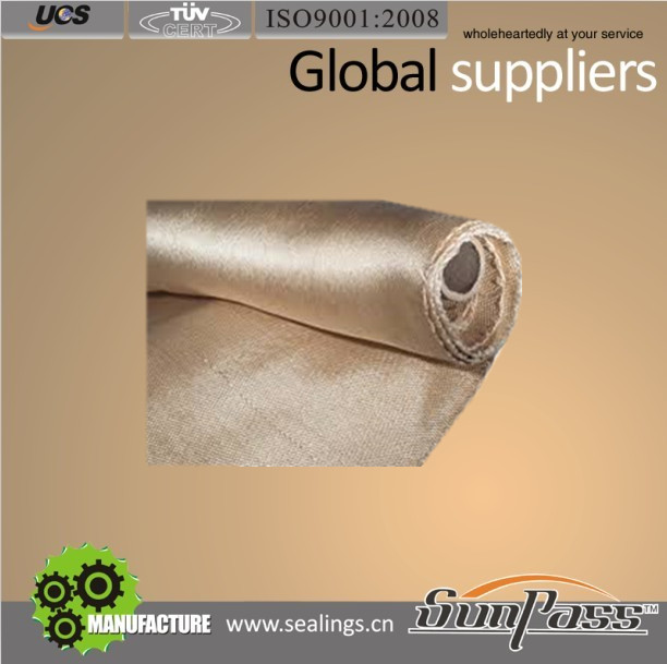 Acid Resistant Market Heat Treated Cloth HT800 Fiberglass Fabric
