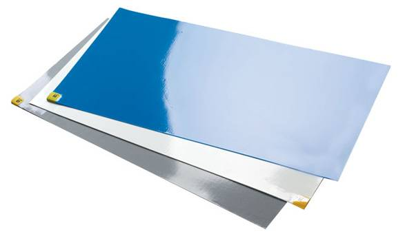 Plastic film  blue or white sticky mat  30sheets