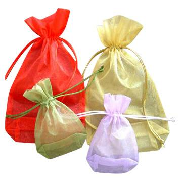 High quality organza fabric gifts bag